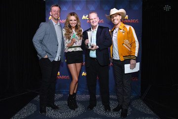 Dustin Lynch Carly Pearce 53rd Academy Of Country Music Awards Radio Awards Reception
