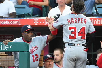 Dusty Baker Washington Nationals v Los Angeles Angels of Anaheim