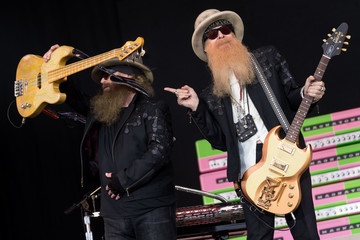 Dusty Hill Glastonbury Festival 2016 - Day 1