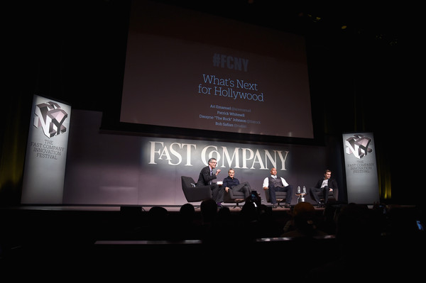 The Fast Company Innovation Festival - The Next Intersection for Hollywood with The Rock