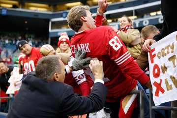 Dwight Clark NFC Championship - San Francisco 49ers v Seattle Seahawks
