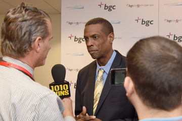Dwight Gooden Annual Charity Day Hosted By Cantor Fitzgerald, BGC and GFI - BGC Office - Arrivals