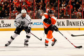 Dwight King Los Angeles Kings v Philadelphia Flyers