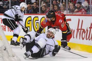 Dwight King Los Angeles Kings v Calgary Flames