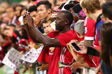 Dwight Yorke Manchester United Legends v PFA Aussie Legends