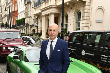 Dylan Jones Mercedes-Benz Is Official Car Partner to London Fashion Week Men's 5th Anniversary Party