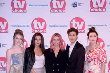 Dylan Llewellyn Beccy Henderson The TV Choice Awards 2019 - Red Carpet Arrivals