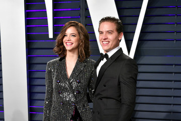 Dylan Sprouse Barbara Palvin 2019 Vanity Fair Oscar Party Hosted By Radhika Jones - Arrivals