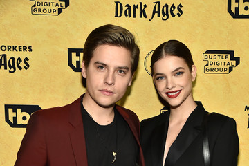"""Dylan Sprouse Barbara Palvin TBS's """"Miracle Workers: Dark Ages"""" Premiere Celebration"""