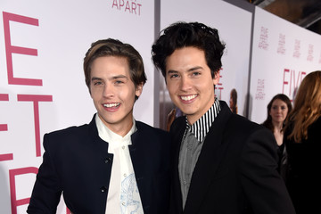 Dylan Sprouse Cole Sprouse Premiere Of Lionsgate's 'Five Feet Apart' - Red Carpet