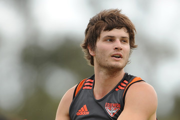 Dylan Van Unen Essendon Bombers Gold Coast Training Camp