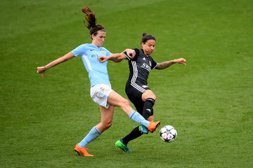 Dzsenifer Marozsan Manchester City Women vs. Lyon - UEFA Women's Champions League Semi Final: First Leg