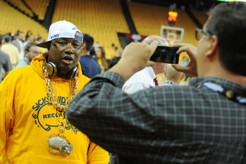E-40 Oklahoma City Thunder v Golden State Warriors - Game Seven