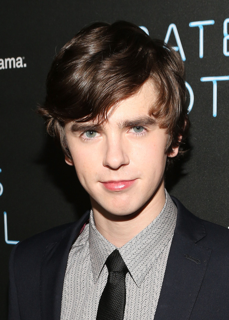 Freddie highmore in 39 bates motel 39 premiere after party 2 for Freddie highmore movies and tv shows