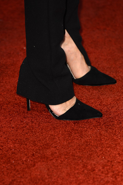 Sarah Jessica Parker (shoe detail) attends the EE British Academy Film Awards at The Royal Opera House on February 10, 2013 in London, England.