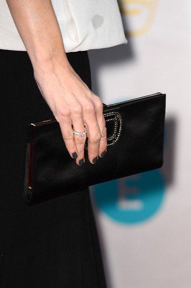 Jennifer Garner (purse detail) attends the EE British Academy Film Awards at The Royal Opera House on February 10, 2013 in London, England.