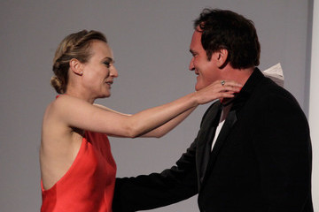 Quentin Tarantino Diane Kruger ELLE's 17th Annual Women In Hollywood Tribute - Show