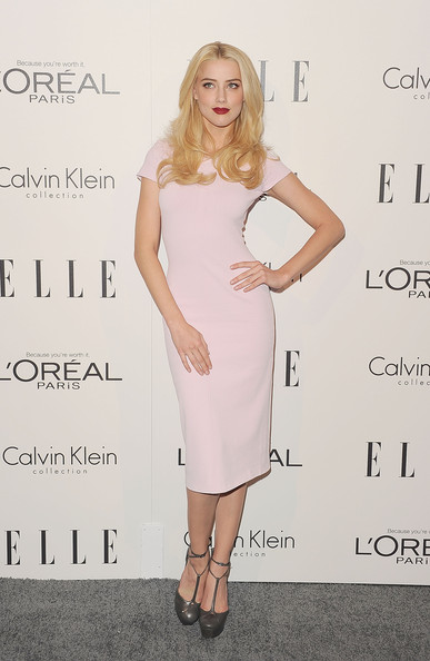 Amber+Heard in ELLE's 18th Annual Women in Hollywood Tribute - Arrivals