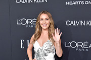 Camilla Luddington attends ELLE's 25th Annual Women In Hollywood Celebration presented by L'Oreal Paris, Hearts On Fire and CALVIN KLEIN at Four Seasons Hotel Los Angeles at Beverly Hills on October 15, 2018 in Los Angeles, California.