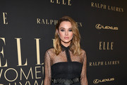 Hunter King attends ELLE's 26th Annual Women In Hollywood Celebration Presented By Ralph Lauren And Lexus at The Four Seasons Hotel Los Angeles on October 14, 2019 in Beverly Hills, California.