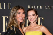 (L-R) ELLE Editor-in-Chief Nina Garcia and Zoey Deutch attend ELLE's 26th Annual Women In Hollywood Celebration Presented By Ralph Lauren And Lexus at The Four Seasons Hotel Los Angeles on October 14, 2019 in Beverly Hills, California.