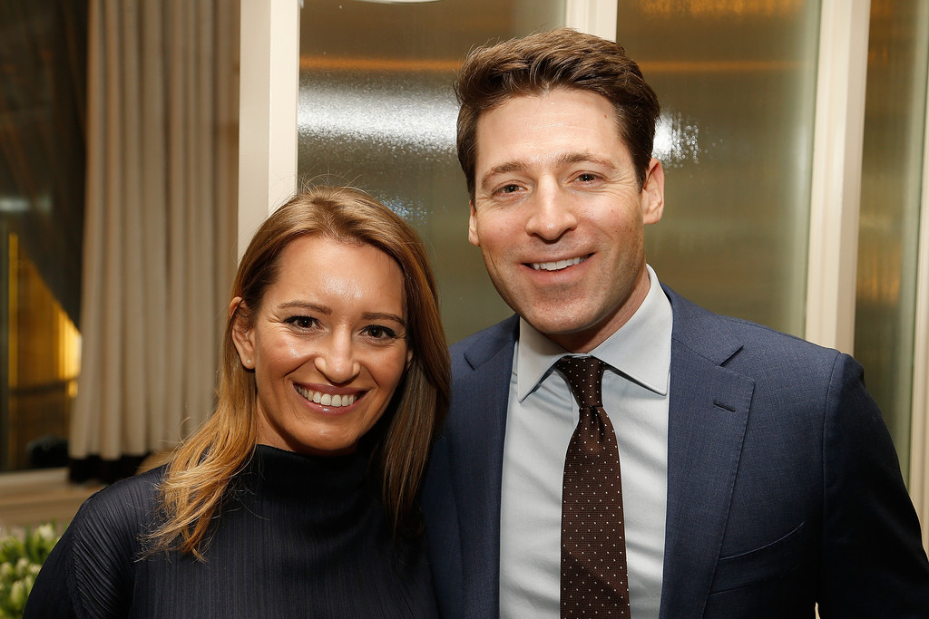 Professional Rivals are a couple in real life! Katy Tur with her fiancee Tony Dokoupli