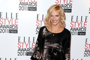 DJ Jo Whiley attends the 2011 ELLE Style Awards at the Grand Connaught Rooms on February 14, 2011 in London, England.