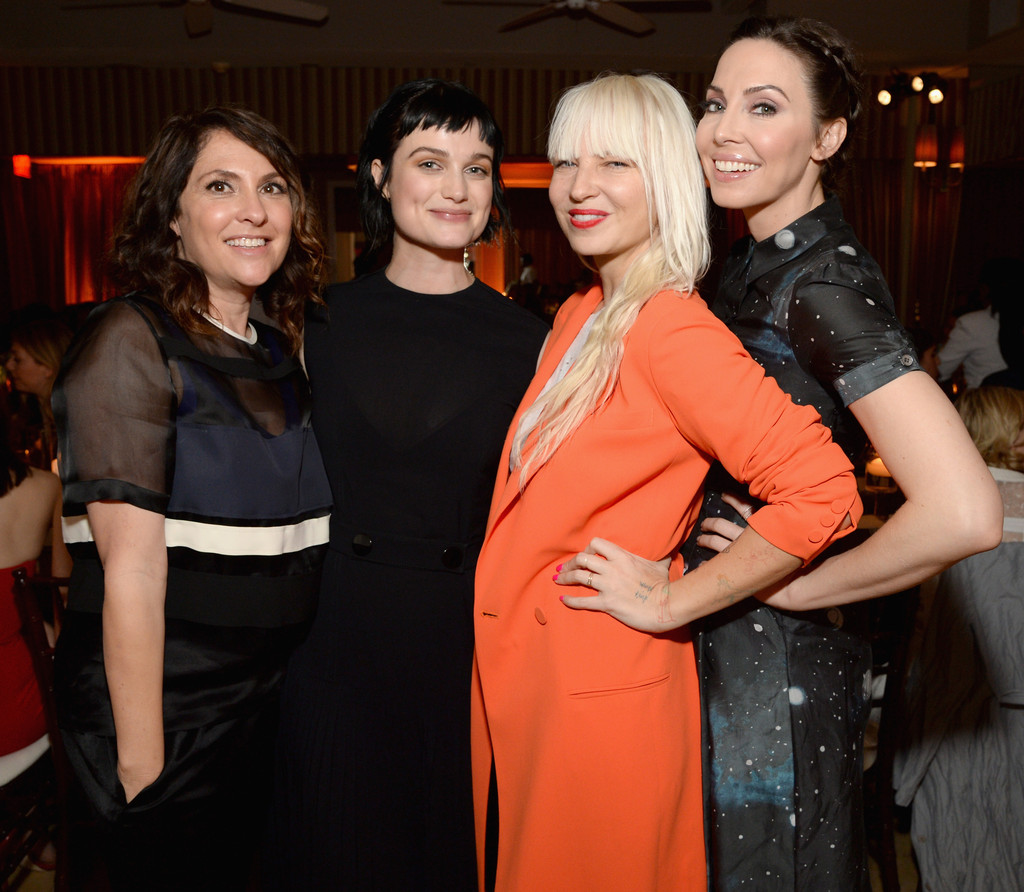 Alison Whitney alison sudol, sia, whitney cummings, jill soloway - sia and