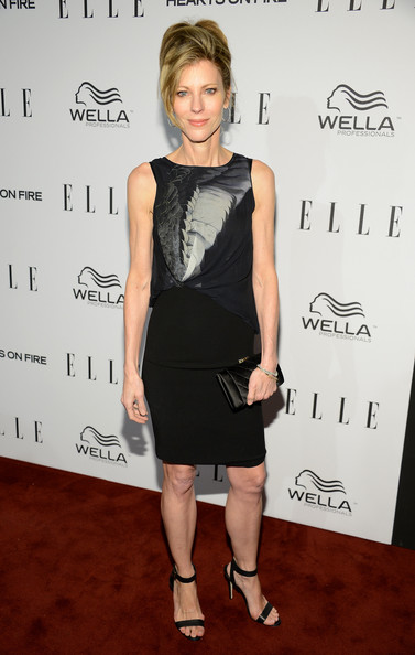 ... ELLE's Women in Television Celebration - Red Carpet ...