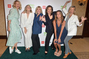 (L-R) Sarah Wright Olsen, Alexx Monkarsh, Environmental Media Association Debbie Levin,  Kelly Vlahakis-Hanks, Marci Zaroff and Amy Smart attend the EMA IMPACT Summit - Day Two at Montage Beverly Hills on May 30, 2019 in Beverly Hills, California.