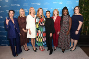 "(L-R) Amanda Shires, EMILY's List Creative Council Co-Founder Chelsea Handler, EMILY's List President Stephanie Schriock, Amber Tamblyn, Eva Longoria, Wendy Davis, Uzo Aduba, and Executive Director of EMILY's List Emily Cain attend EMILY's List Brunch and Panel Discussion ""Defining Women"" at Four Seasons Hotel Los Angeles at Beverly Hills on February 04, 2020 in Los Angeles, California."