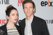 "Actress Zoe Lister Jones and filmmaker Daryl Wein attend EPIX ""America Divided"" LA Premiere at Billy Wilder Theater at The Hammer Museum on September 20, 2016 in Westwood, California."