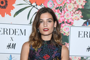 Alma Jodorowsky attends ERDEM X H&M Paris Collection Launch at Hotel du Duc on October 26, 2017 in Paris, France.