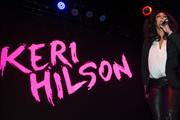 Singer Keri Hilson performs at the ESSENCE + Ford My City 4 Ways - Houston at White Oak Music Hall on December 01, 2018 in Houston, Texas.