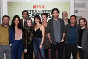 "Actors Neil Casey, Camille Guaty, Lonny Ross, Annette O'Toole, Jackie Thon, Elvy Yost, Rick Glassman, Rick Overtone, Joe Lo Truglio and Seth Green attend the cast and crew screening of ""A Futile And Stupid Gesture"" hosted by EW and Netflix at The London West Hollywood Hotel on January 26, 2018 to celebrate the launch in West Hollywood, California."