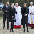 Earl of Wessex Royal Family Attend Sunday Service In Windsor