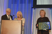 Alan Patricof, Susan Patricof and Hilary Clinton attend the The East Harlem School 2013 Fall Benefit Honoring Susan And Alan Patricof on November 11, 2013 in New York City.