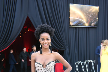 Ebonee Davis 26th Annual Elton John AIDS Foundation Academy Awards Viewing Party With Cocktails by Clase Azul Tequila