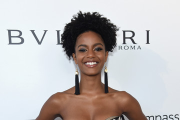Ebonee Davis 26th Annual Elton John AIDS Foundation Academy Awards Viewing Party sponsored by Bulgari, celebrating EJAF and the 90th Academy Awards - Red Carpet