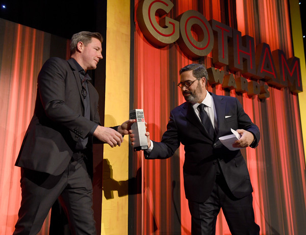 IFP's 29th Annual Gotham Independent Film Awards - Show [event,suit,comedy club,formal wear,glen basner,ed burns,award,cipriani wall street,new york city,ifp,l,29th annual gotham independent film awards - show,29th annual gotham independent film awards]