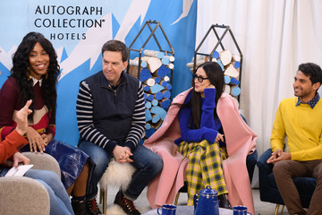 Ed Helms Jessica Williams The Vulture Spot At Sundance - DAY 4