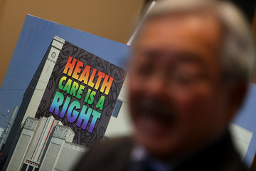 Ed Lee San Francisco Mayor Ed Lee Visits ACA Open Enrollment Event