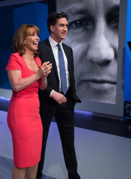 David Cameron and Ed Miliband Take Part in TV Q&A