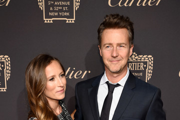 Ed Norton The Cartier Fifth Avenue Grand Reopening Event