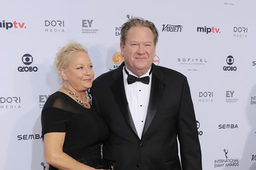 Ed Schultz 44th International Emmy Awards - Arrivals