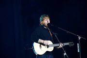 Ed Sheeran performs on stage at Mt Smart Stadium on March 24, 2018 in Auckland, New Zealand.