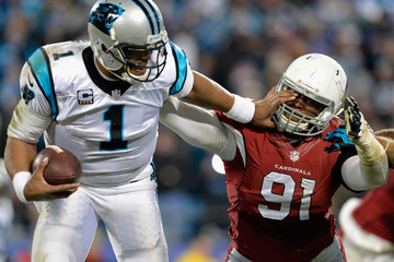 Ed Stinson NFC Championship - Arizona Cardinals v Carolina Panthers