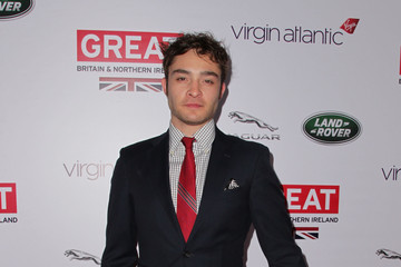Ed Westwick 2014 GREAT British Oscar Reception - Arrivals