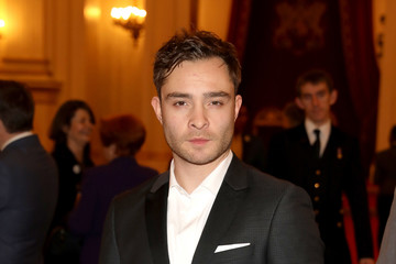 Ed Westwick National Youth Theatre Diamond Anniversary Reception At Buckingham Palace Hosted By HRH The Earl Of Wessex