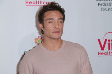 Ed Westwick 30th Annual A Time For Heroes Family Festival - Arrivals